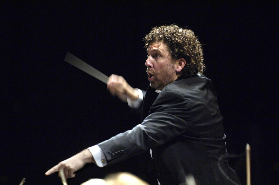 WASO image Asher Fisch, Principal Conductor
