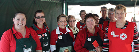 Bunnings and Red Cross