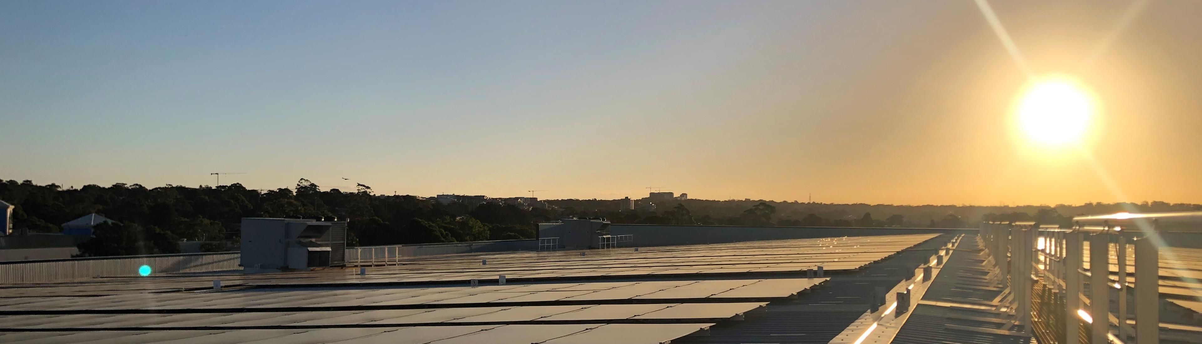 Bunnings solar POD